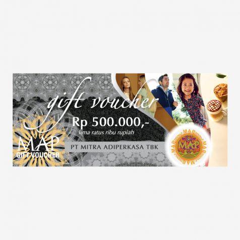 (Paper) MAP Gift Voucher Rp500.000