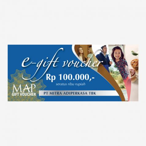 (Digital) MAP Gift Voucher Rp100.000